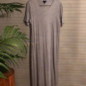 Grey Who What Wear Maxi Dress
